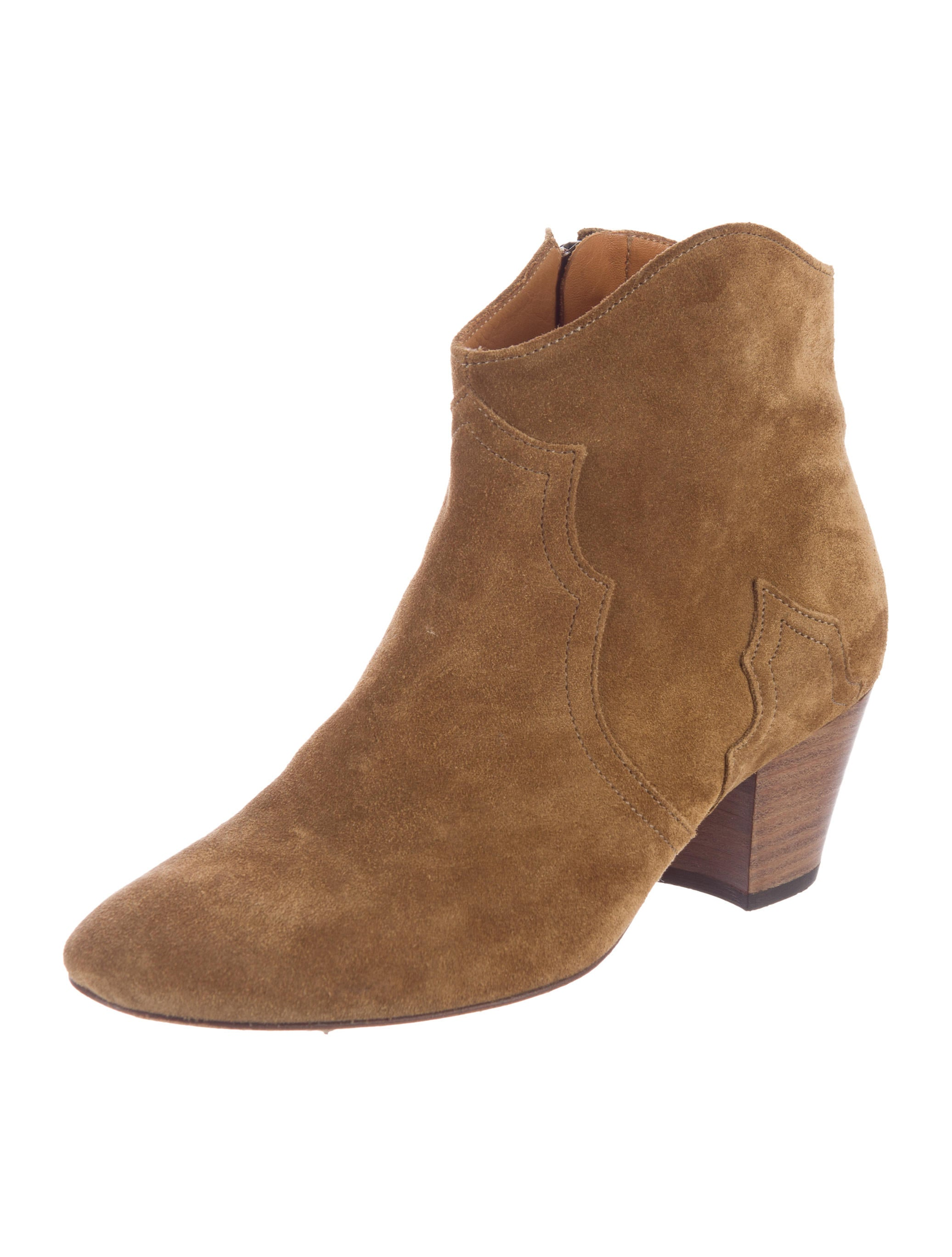 marant dicker suede ankle boots shoes isa39727