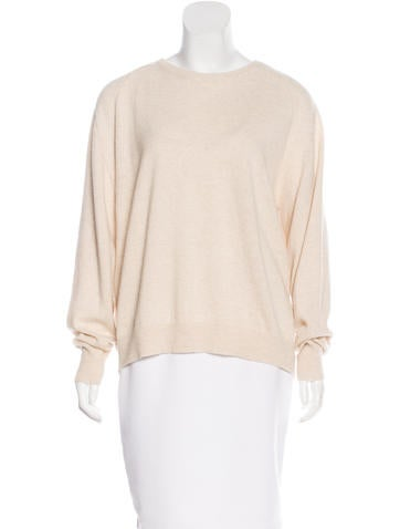 Isabel Marant Wool-Blend Open Back Sweater w/ Tags None