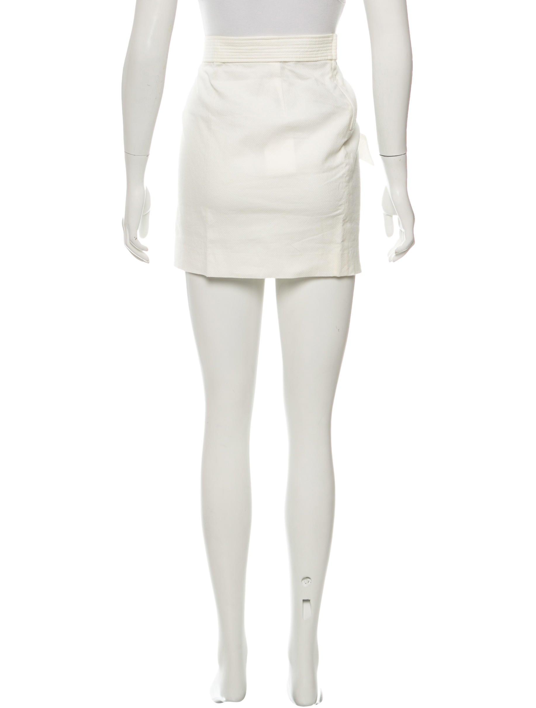 marant linen knee length skirt clothing