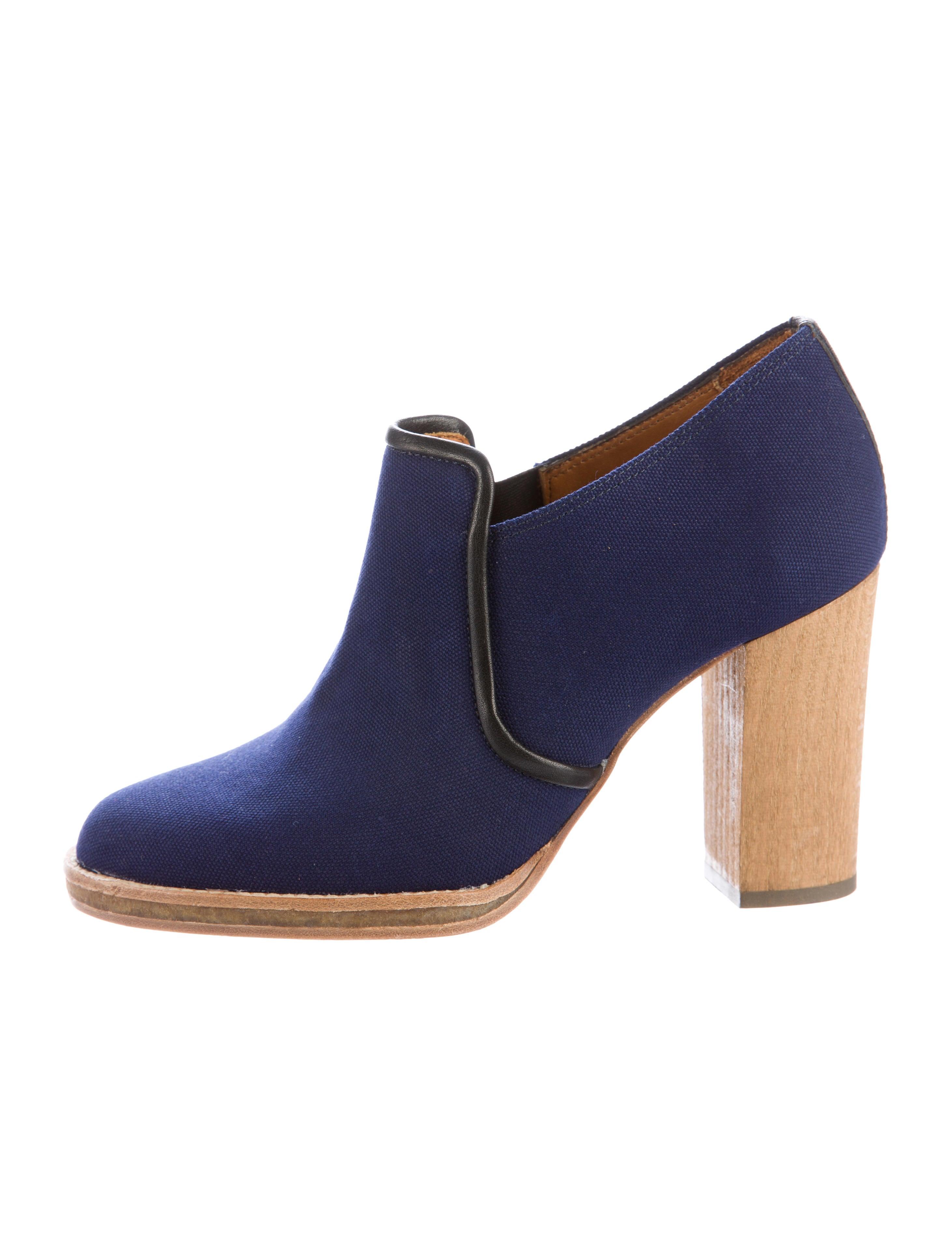 marant clarisse canvas ankle boots shoes