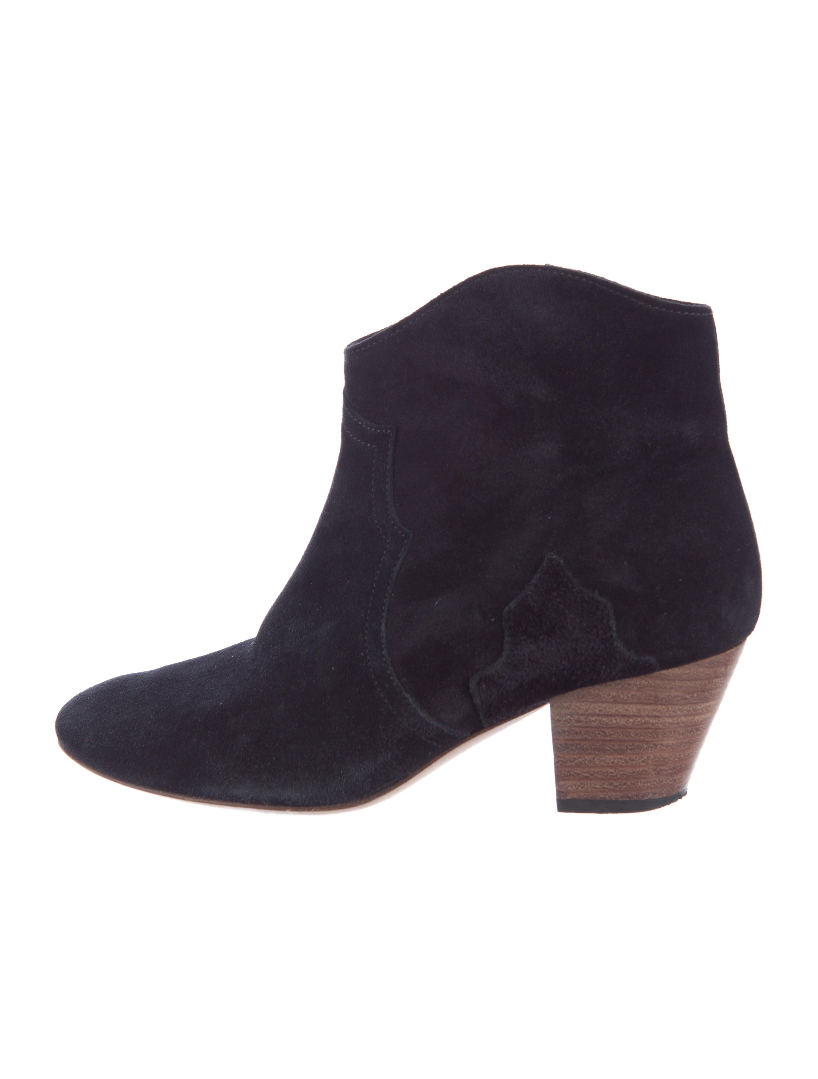 marant suede dicker ankle boots shoes isa39871