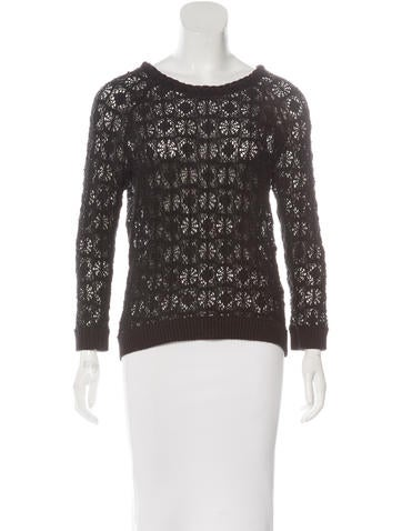 Isabel Marant Lace Knit Top None
