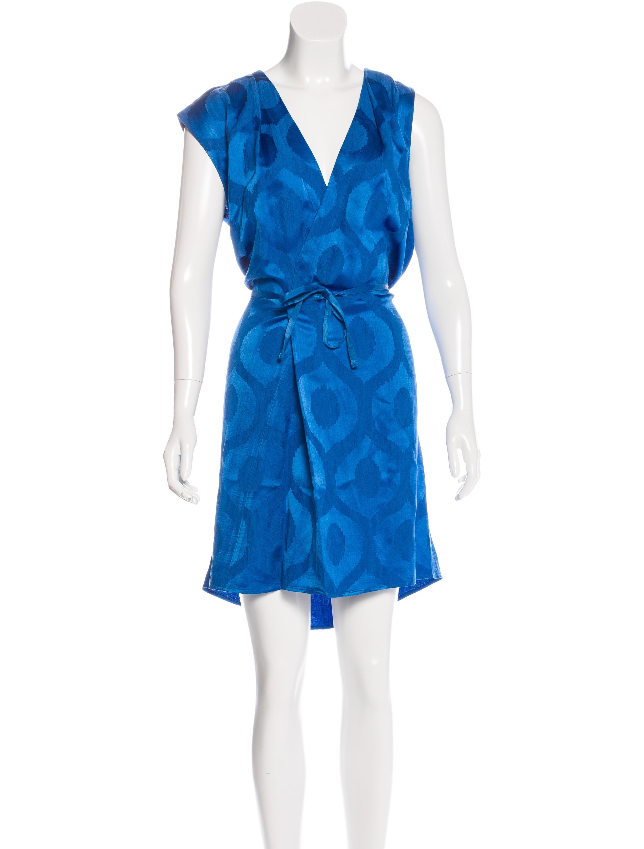 Isabel marant jacquard shift dress clothing isa39979 for Isabel marant shirt dress