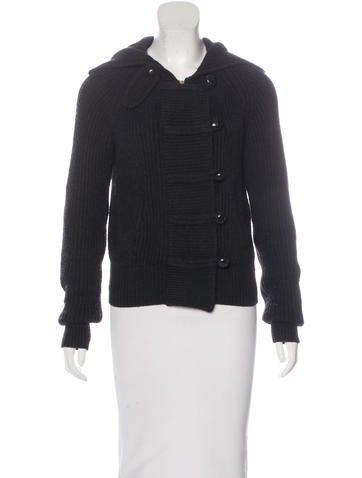 Isabel Marant Rib Knit Hooded Jacket None