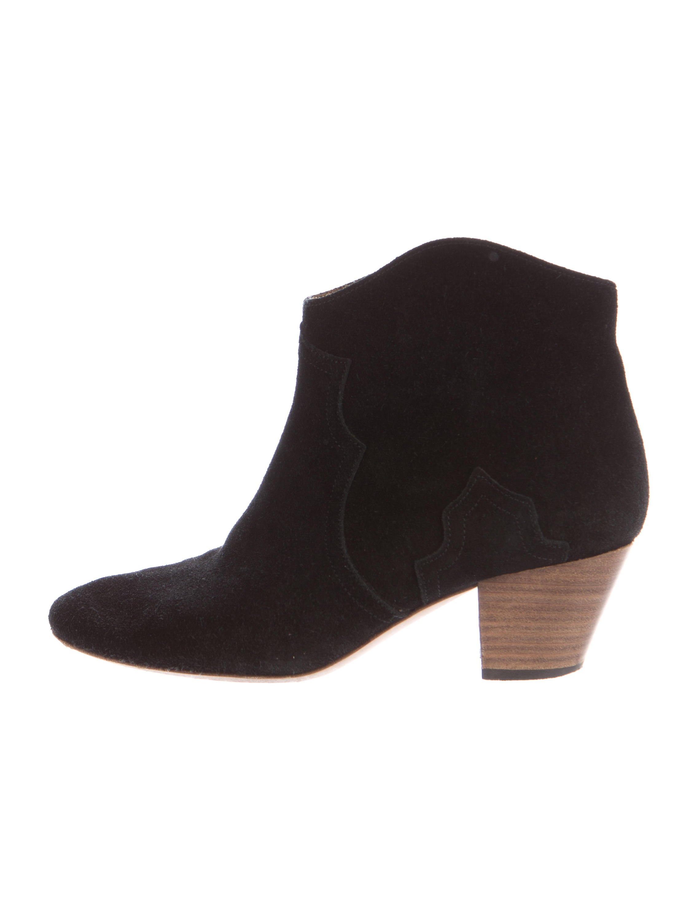 marant dicker suede ankle boots shoes isa40022