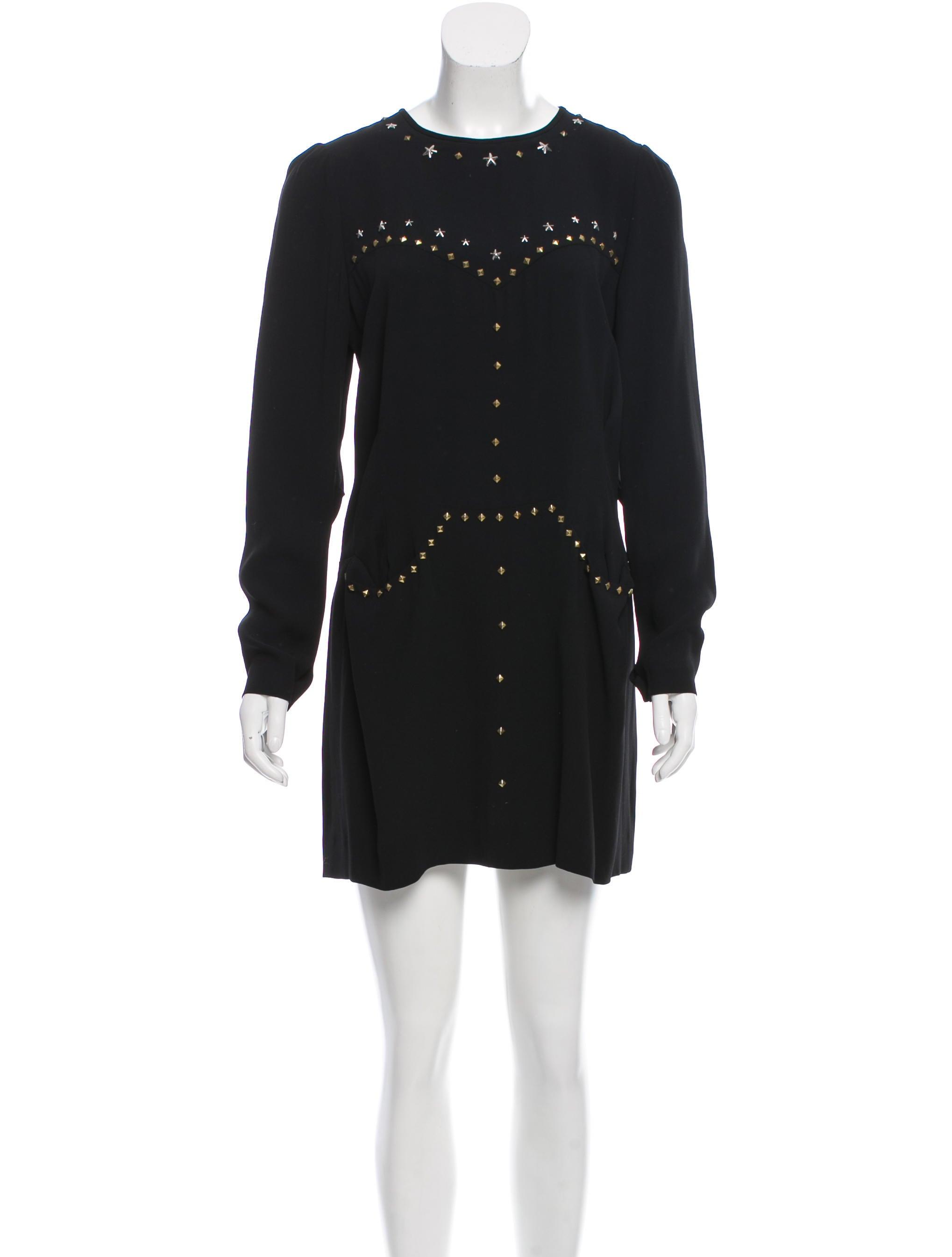 Isabel marant star stud embellished dress clothing for Isabel marant shirt dress