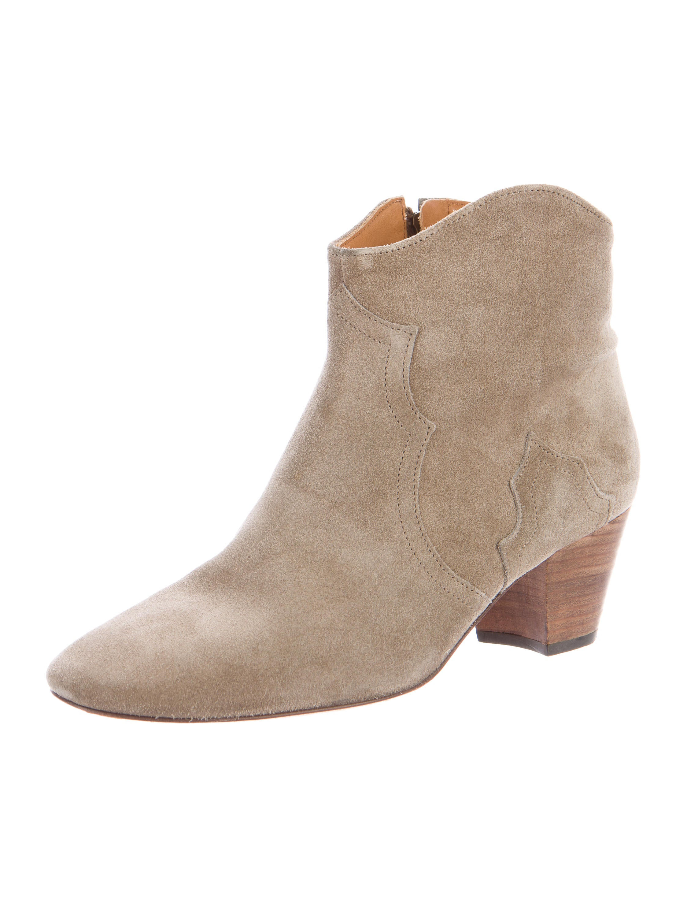 marant dicker suede ankle boots shoes isa40125