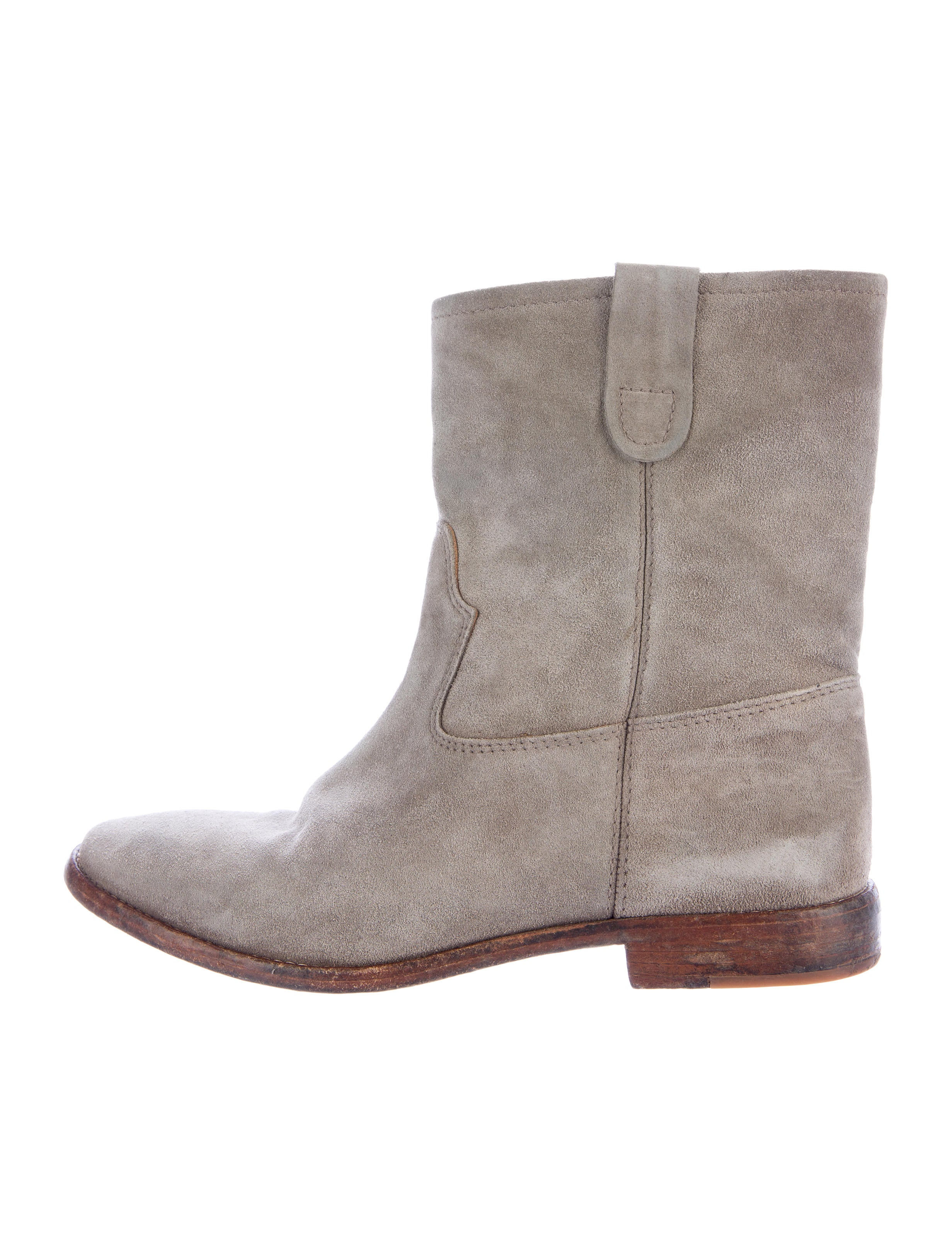 marant crisi suede ankle boots shoes isa40131