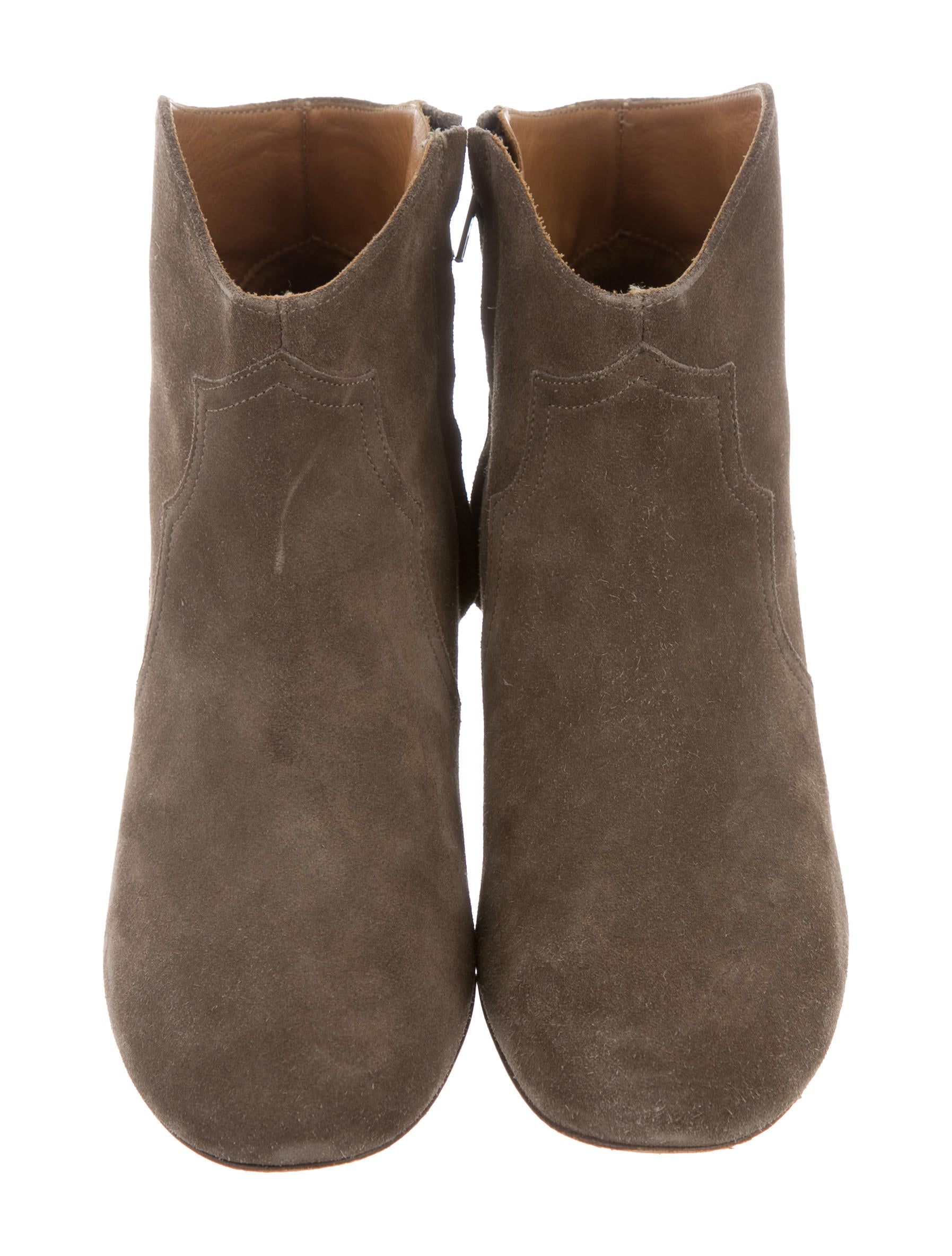 marant suede dicker ankle boots shoes isa40393