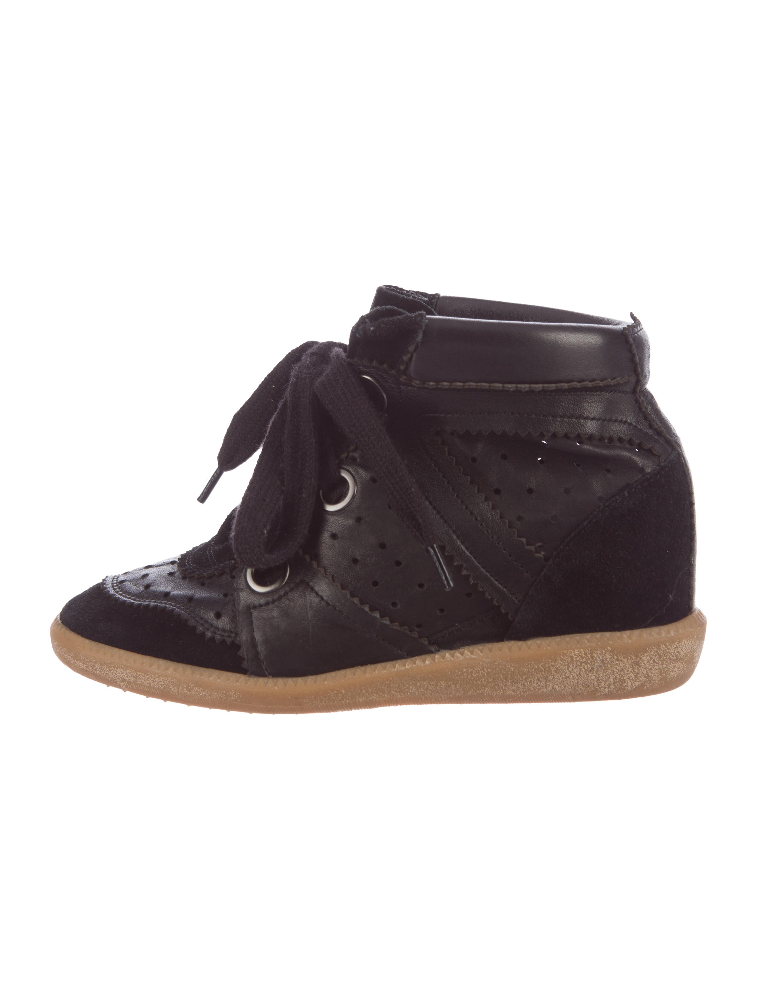 isabel marant bobby wedge sneakers shoes isa40525. Black Bedroom Furniture Sets. Home Design Ideas