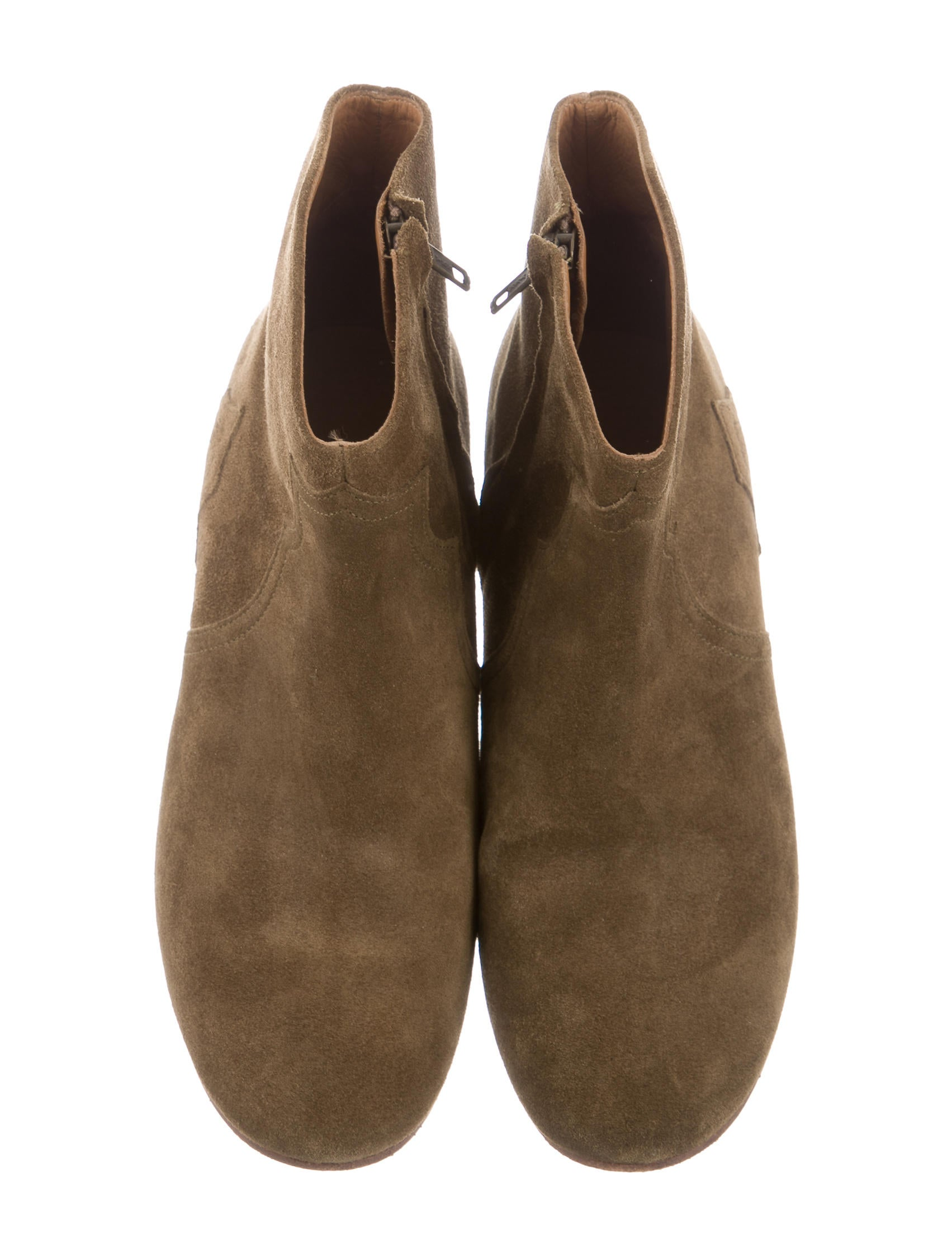 marant suede dicker ankle boots shoes isa40620