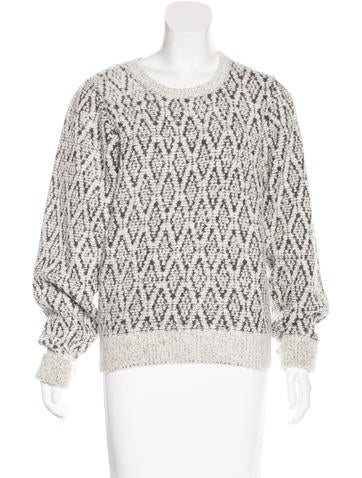 Isabel Marant Wool Bouclé Sweater None
