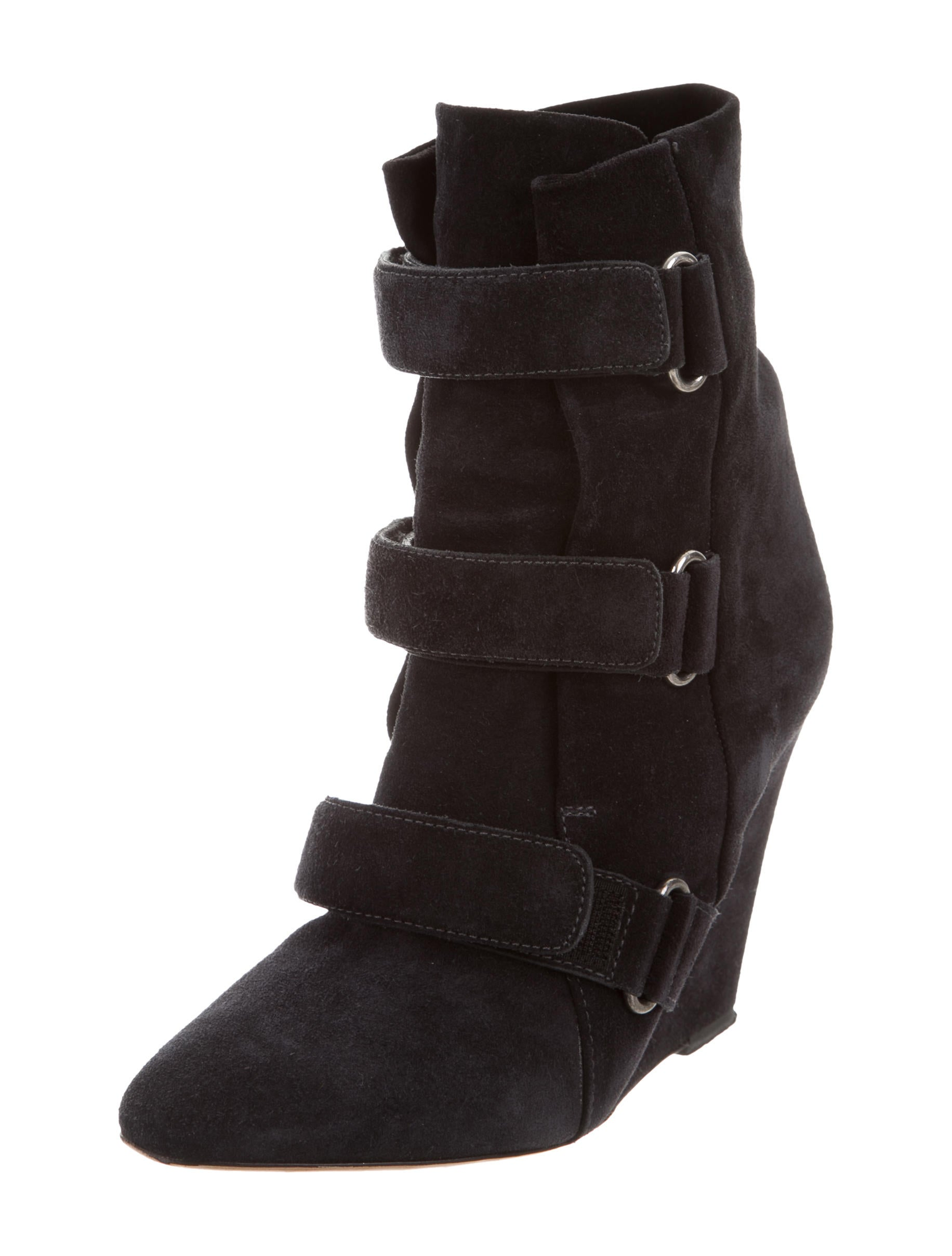 marant suede wedge ankle boots shoes isa40978