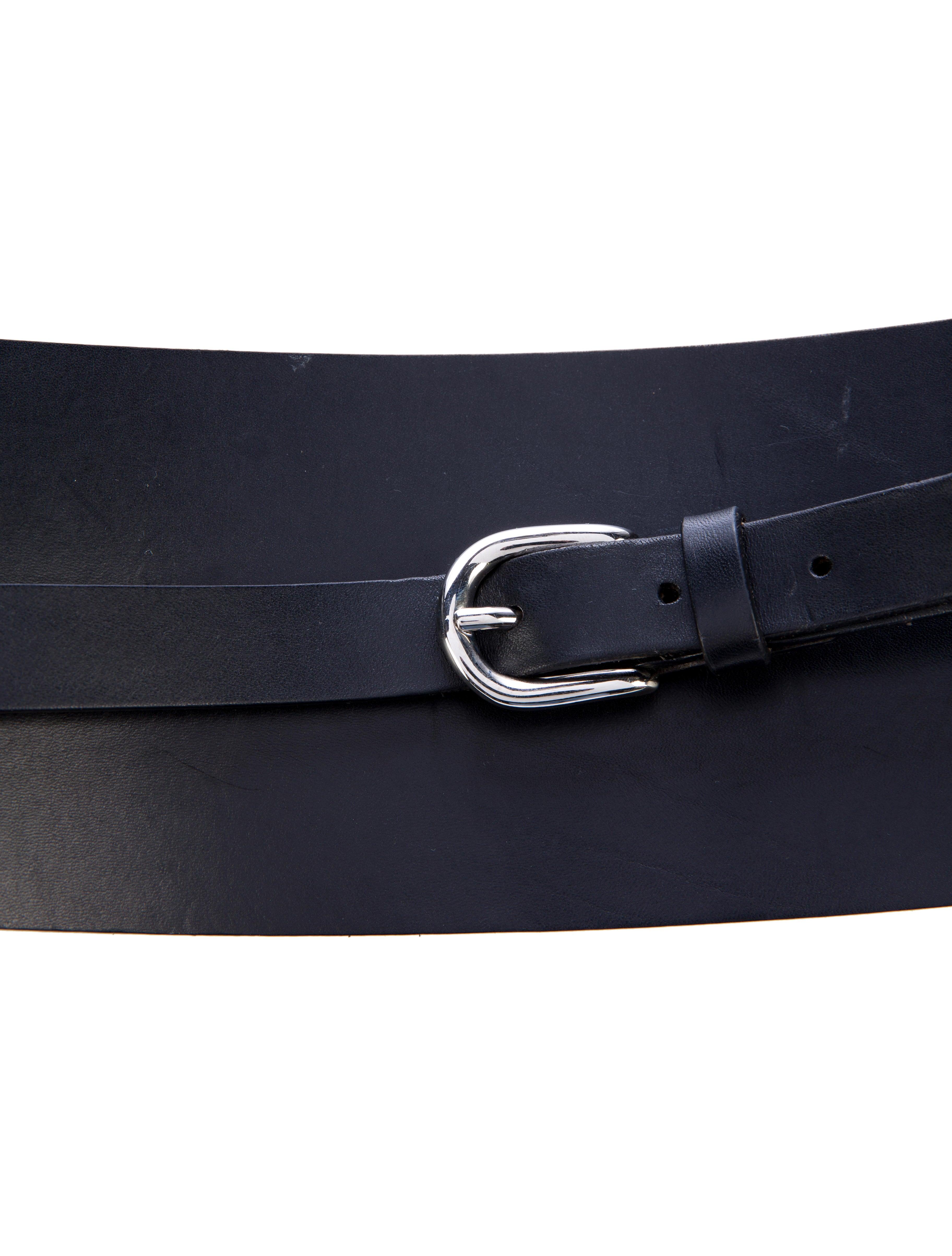 marant leather wrap waist belt accessories