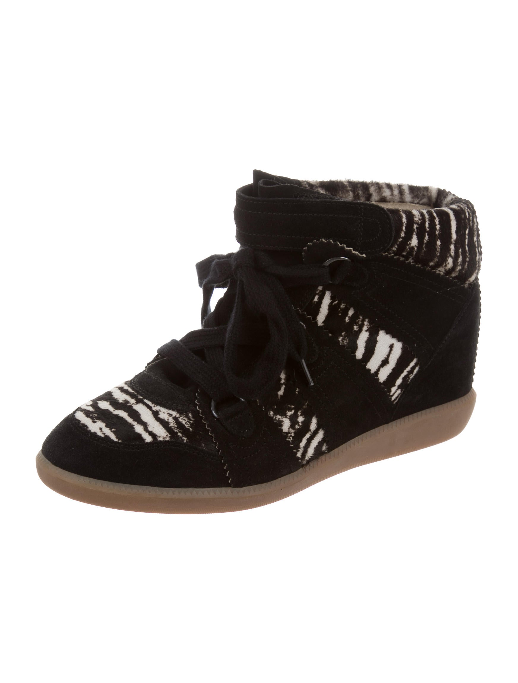 isabel marant basket wedge sneakers shoes isa41563 the realreal. Black Bedroom Furniture Sets. Home Design Ideas