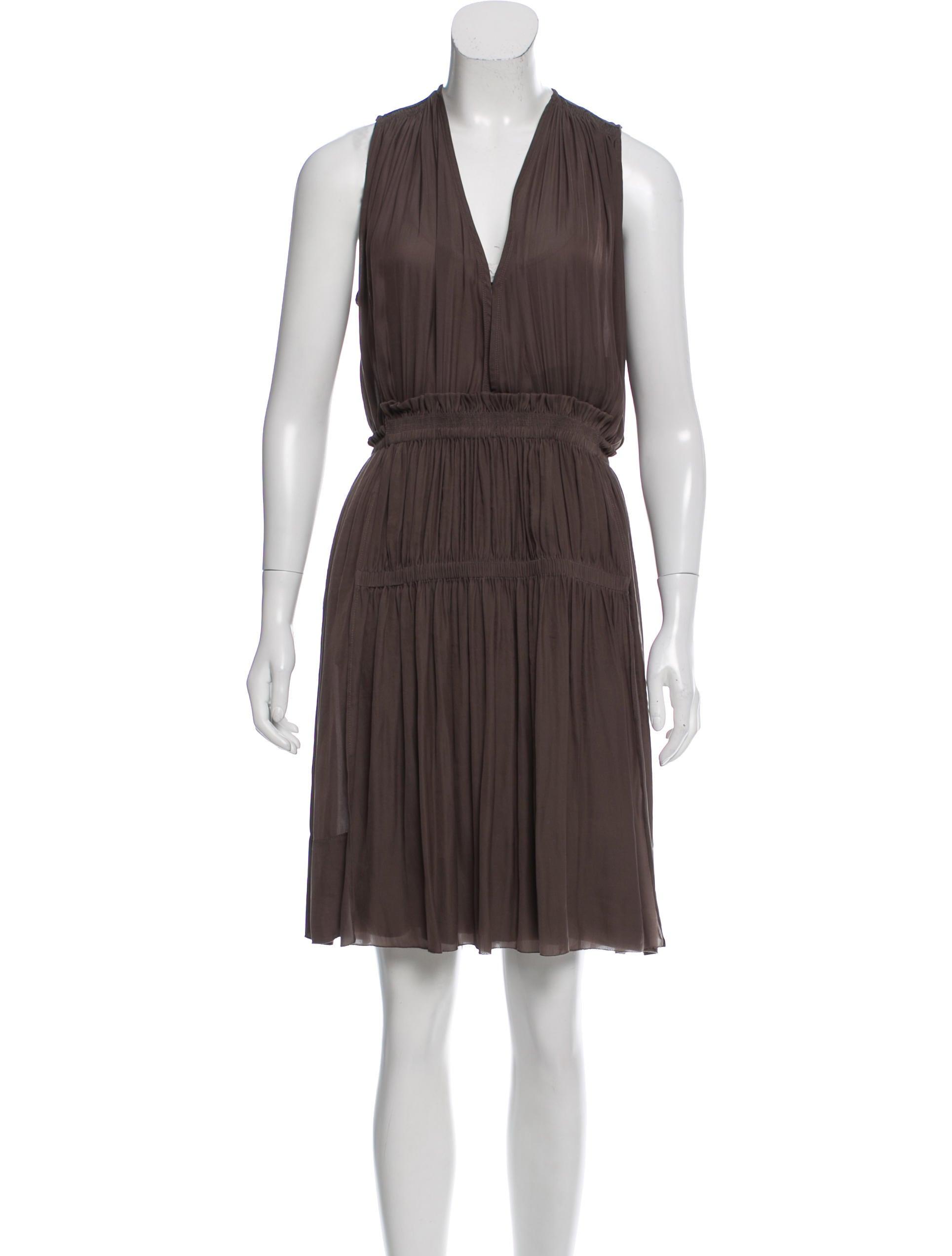 Isabel marant sleeveless mini dress clothing isa41672 for Isabel marant shirt dress