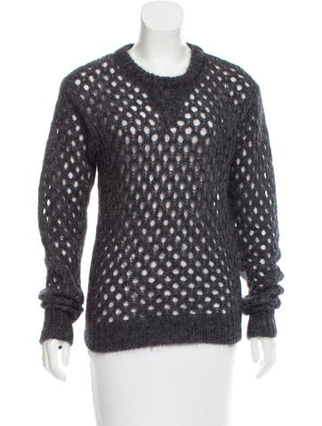 Isabel Marant Mohair & Wool-Blend Sweater None