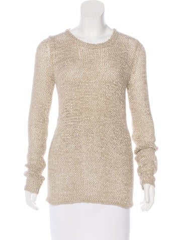 Isabel Marant Silk-Blend Knit Sweater None