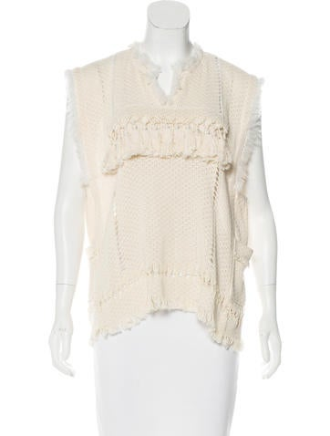 Isabel Marant Sleeveless Knit Top None