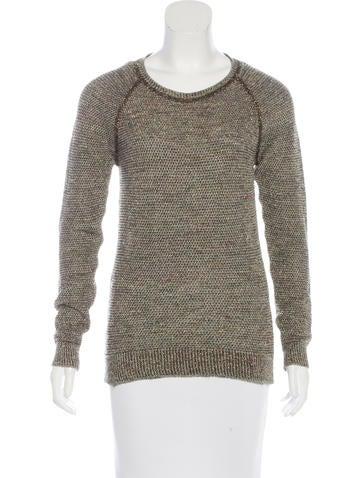 Isabel Marant Metallic Crew Neck Sweater None