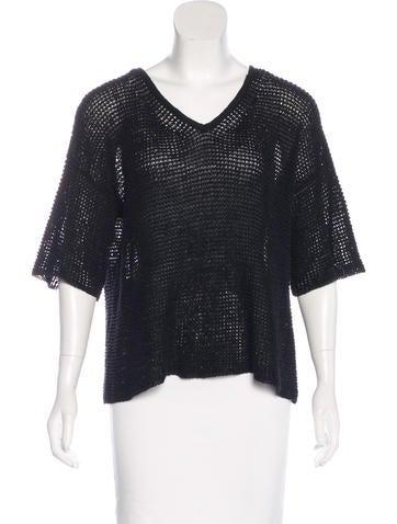 Isabel Marant Knit V-neck Top None