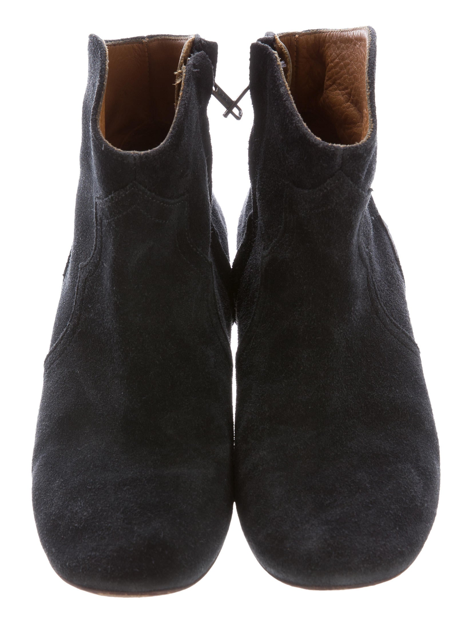 marant dicker suede ankle boots shoes isa43500
