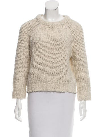 Isabel Marant Wool & Alpaca-Blend Sweater None