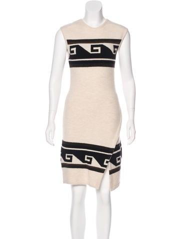 Isabel Marant Sleeveless Sweater Dress None