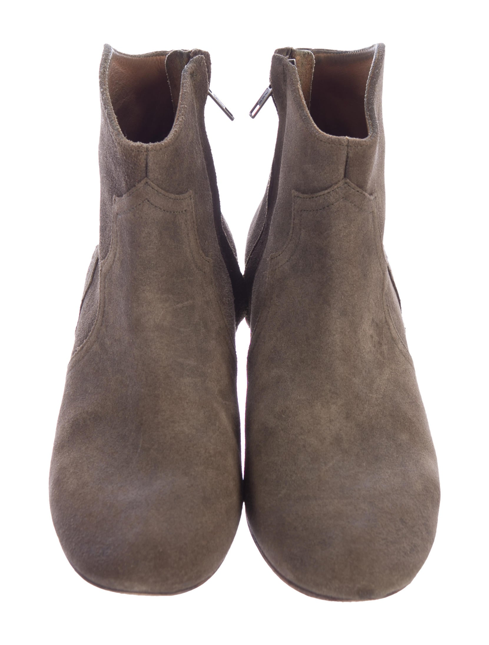 marant dicker suede ankle boots shoes isa44959