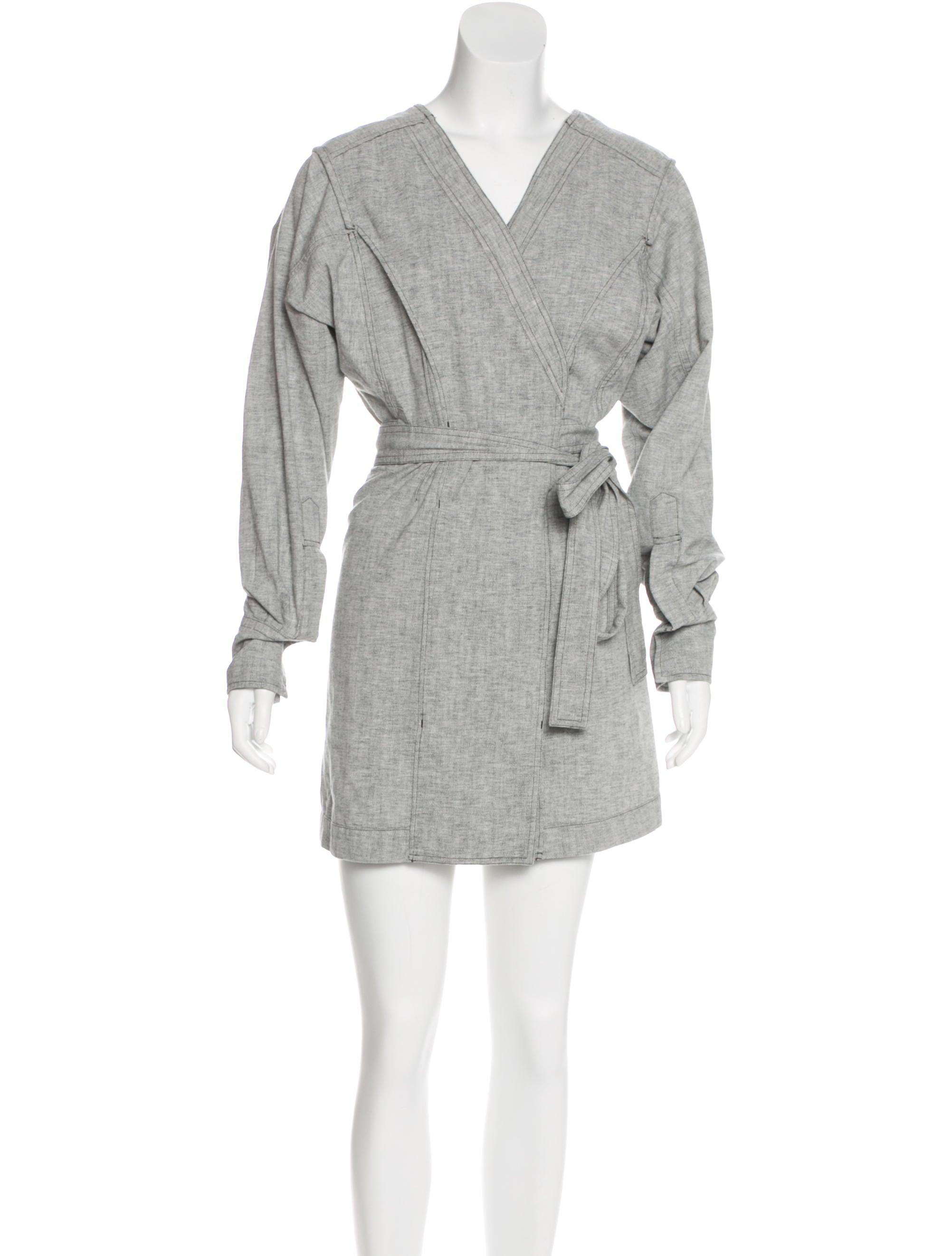 Isabel marant denim mini dress clothing isa44992 the for Isabel marant shirt dress