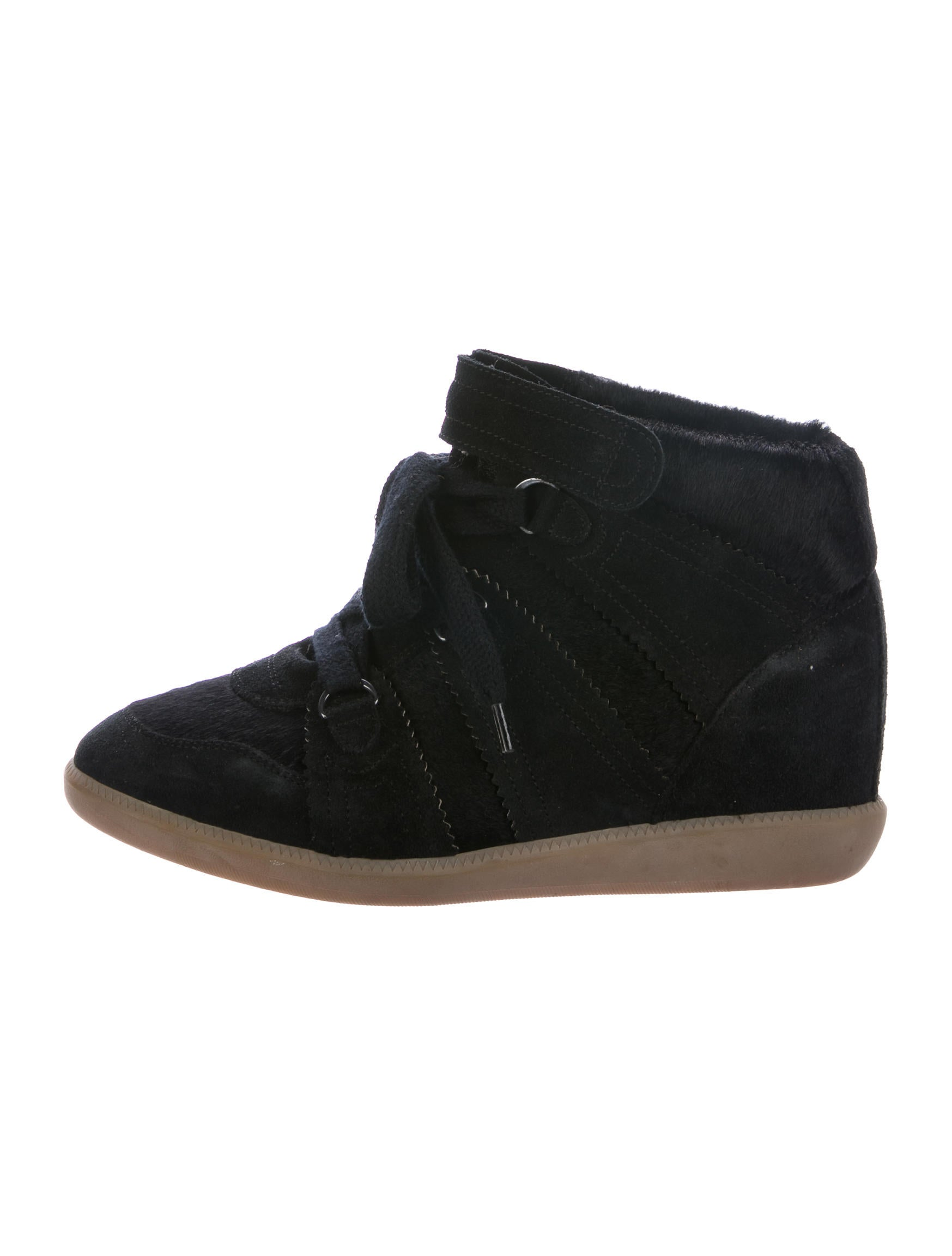 isabel marant basket wedge sneakers shoes isa45395 the realreal. Black Bedroom Furniture Sets. Home Design Ideas