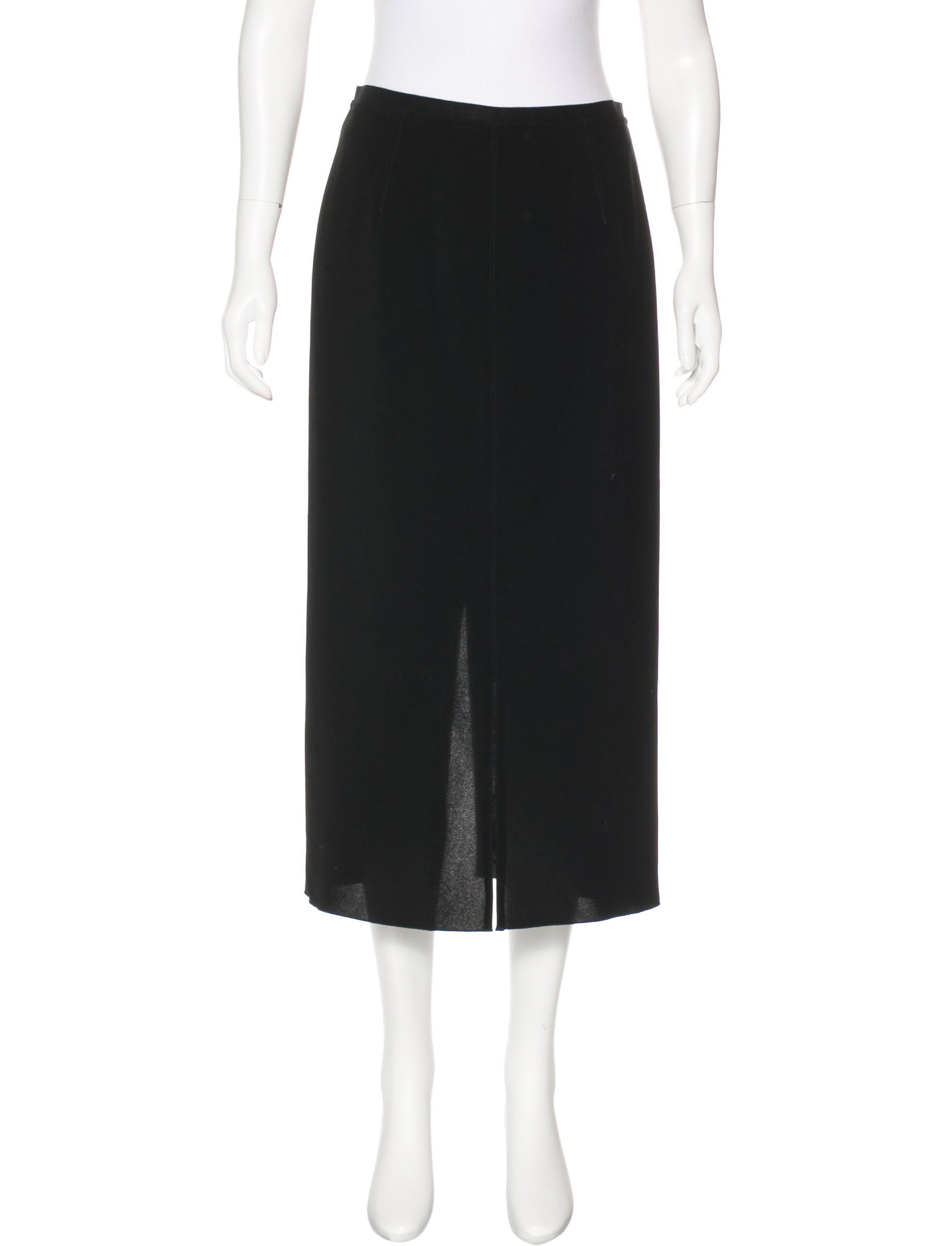 marant slit midi skirt clothing isa45885 the