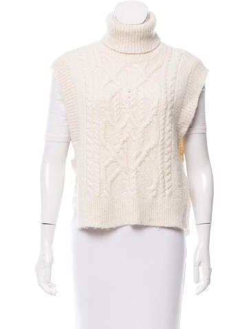 Isabel Marant Sleeveless Alpaca Sweater None