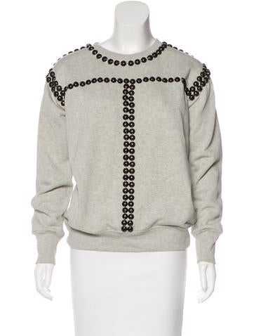 Isabel Marant Embellished Knit Sweater None