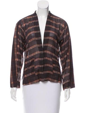 Isabel Marant Printed Long Sleeve Top None