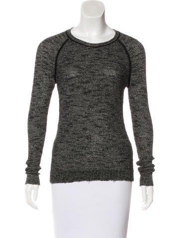 Isabel Marant Crew Neck Long Sleeve Sweater None