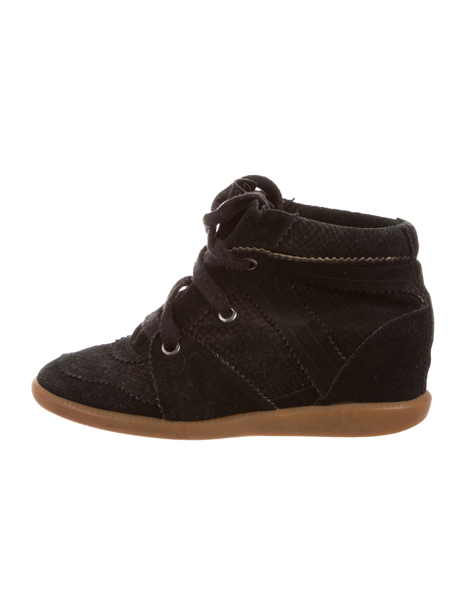 isabel marant bobby wedge sneakers shoes isa47044. Black Bedroom Furniture Sets. Home Design Ideas