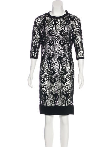 Isabel Marant Lace Knee-Length Dress w/ Tags None