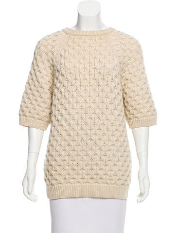 Isabel Marant Wool Cable Knit Sweater None