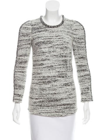 Isabel Marant Textured Long Sleeve Top None