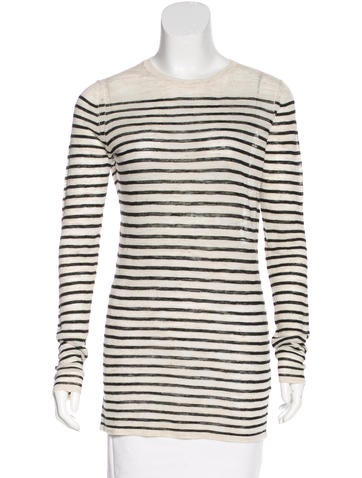 Isabel Marant Striped Knit Top None