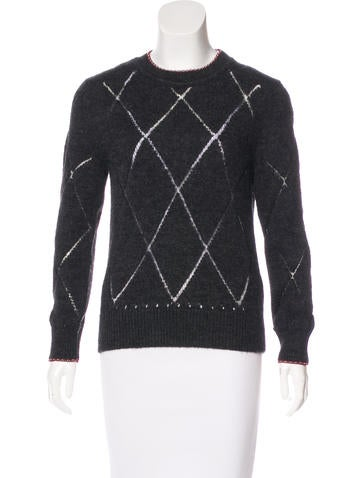 Isabel Marant Patterned Long Sleeve Sweater None