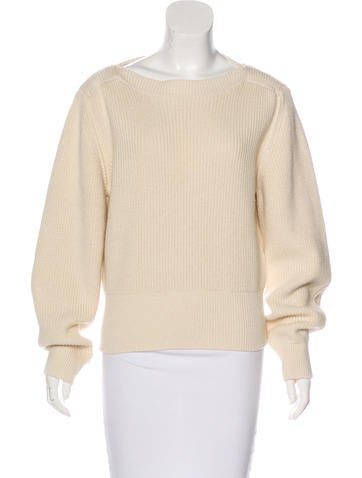 Isabel Marant Long Sleeve Rib Knit Sweater w/ Tags None