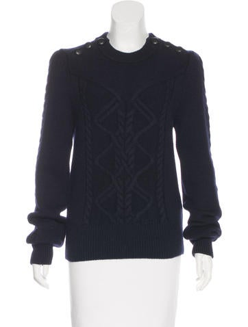 Isabel Marant Long Sleeve Wool Sweater None
