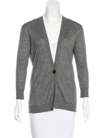 Isabel Marant Cashmere & Silk-Blend Cardigan None