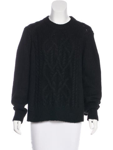 Isabel Marant Alpaca Cable Knit Sweater None