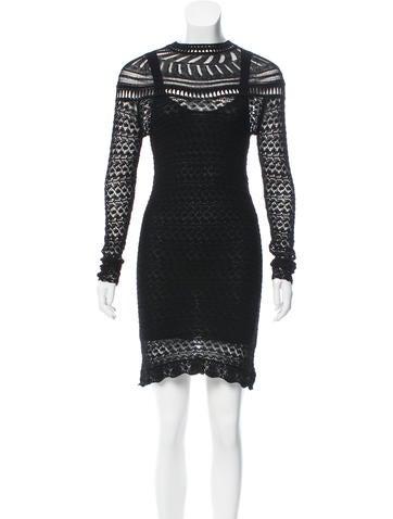 Isabel Marant Davy Crocheted Mini Dress w/ Tags None