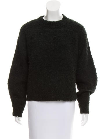 Isabel Marant Crew Neck Bouclé Sweater None