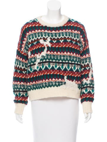 Isabel Marant Wool Knit Sweater None