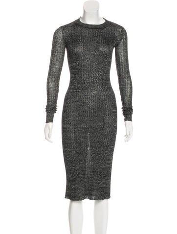 Isabel Marant Linen & Wool-Blend Dress None